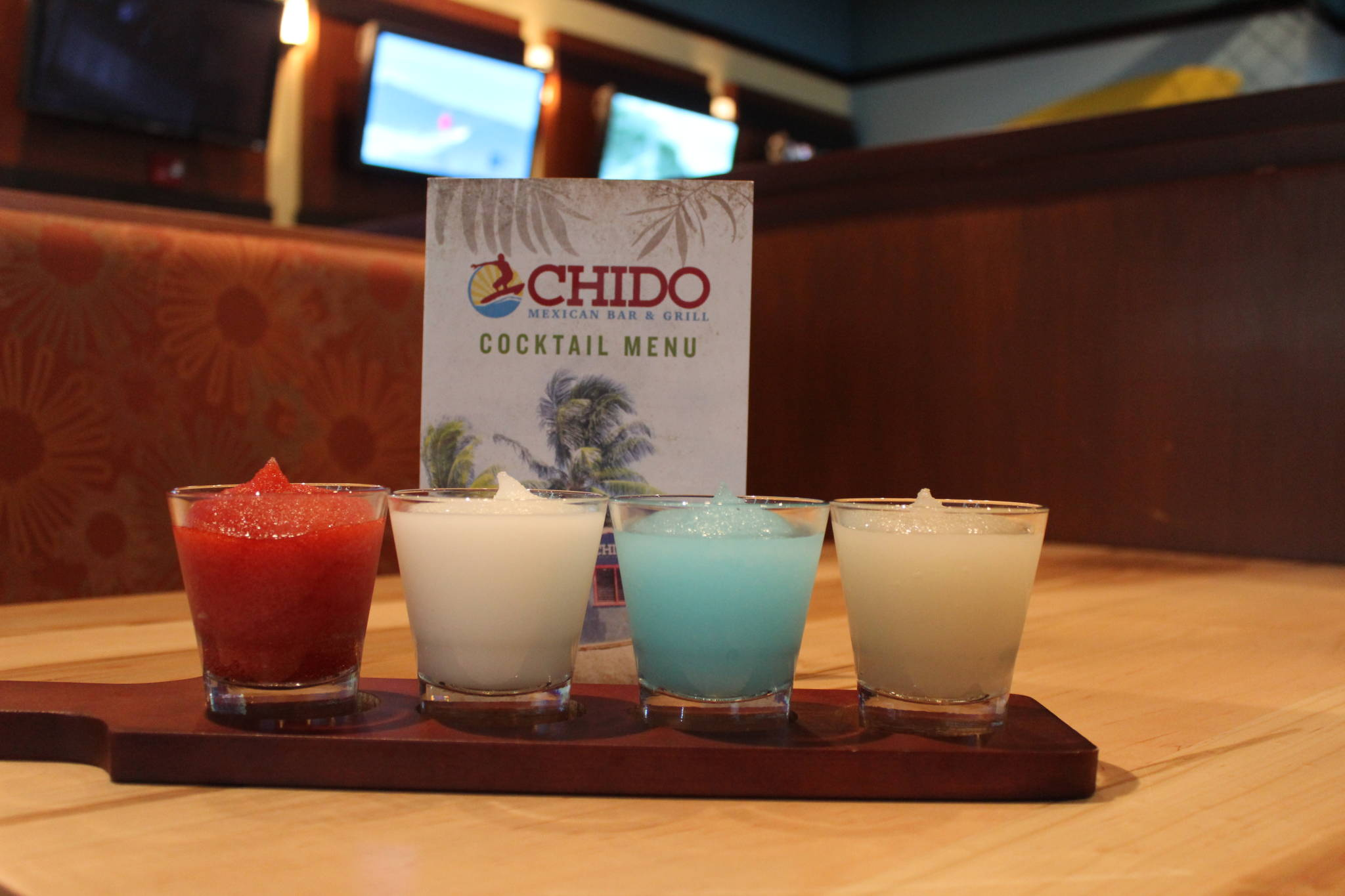 Chido, Mexican, Bar, Flight, Margarita, Mondays, EVV